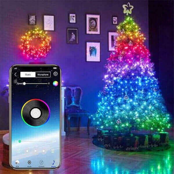 CUSTOM LED SMART STRING LIGHTS DECORATION