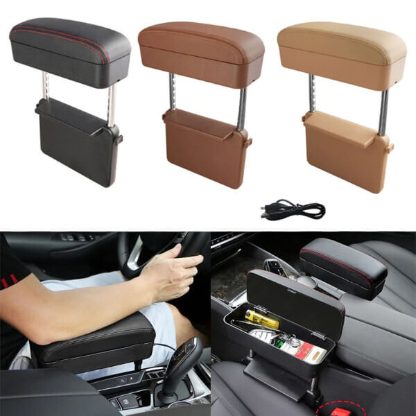 UNIVERSAL WIRELESS CHARGING CAR ARMREST BOX