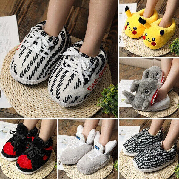 UNISEX SNEAKERS HOME SLIPPERS (SNEAPPERS!)