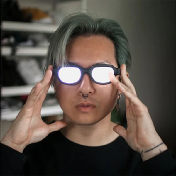 LED LUMINOUS COSPLAY GLASSES