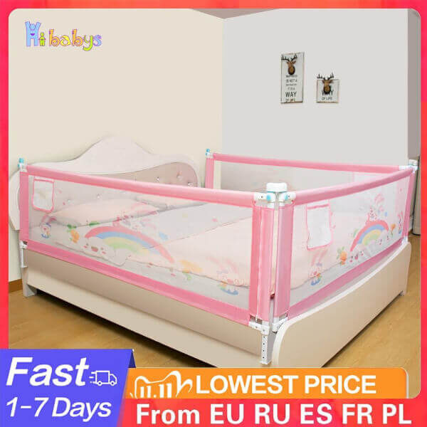 ADJUSTABLE BABY BED RAIL GUARD