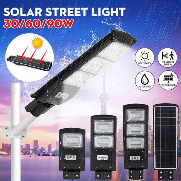 LED SOLAR STREET MOTION SENSOR LIGHT