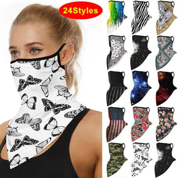 HEADBAND BREATHABLE FACE COVER