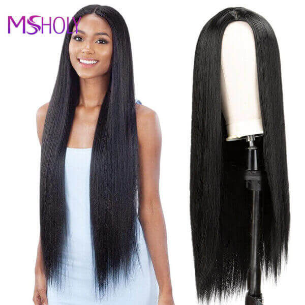 NATURAL LOOKING STRAIGHT HAIR WIG