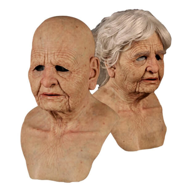 HALLOWEEN WICKED COUPLE SKIN MASK