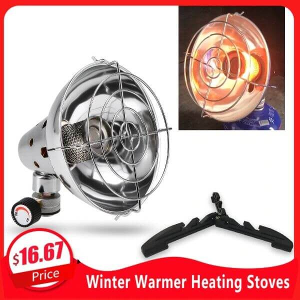 OUTDOOR CAMPING PORTABLE GAS HEATER