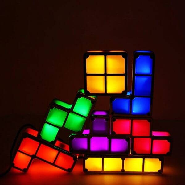 L.E.D BLOCK PUZZLE GAME LIGHT