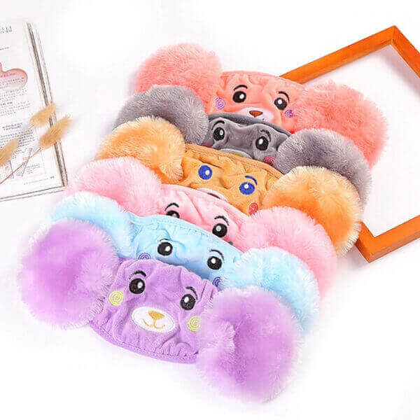 WINTER PLUSH CHILDREN CARTOON EAR PROTECTORS