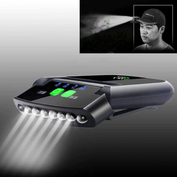 HANDS FREE CLIP-ON CAP LED LIGHT