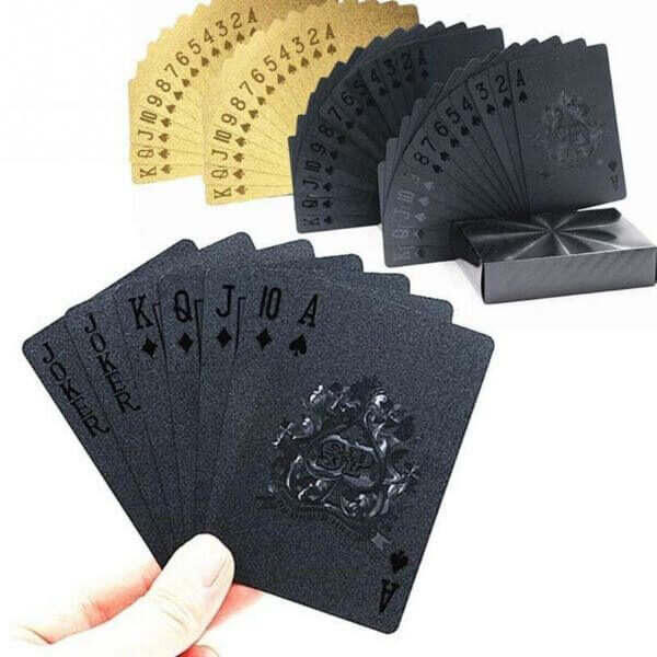 WATERPROOF LUXURY GOLD PLAYING CARDS