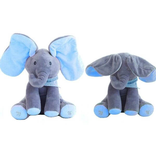 EARS MOVING ELEPHANT MUSIC TOY