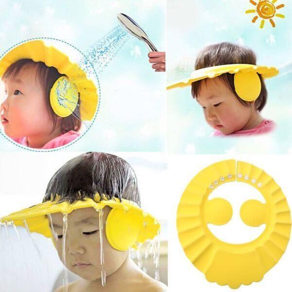 NO TEARS PROTECTIVE BATH CAP