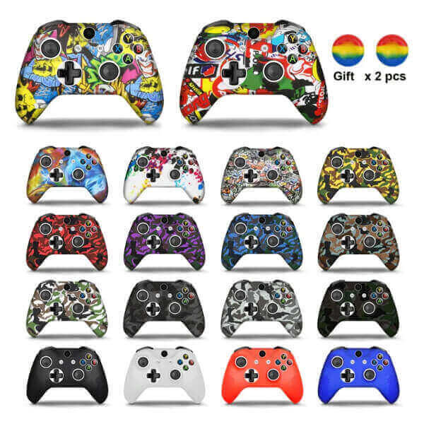 GAMEPAD CAMO SILICONE COVER