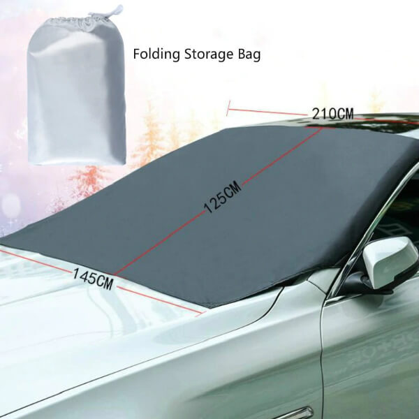 WINDSHIELD SNOW COVER MAGNETIC SUNSHADE