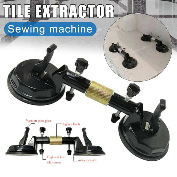 ADJUSTABLE SUCTION CUP STONE SEAM SETTER