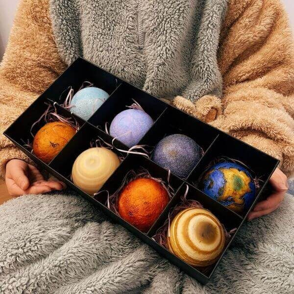 RECHARGEABLE 3D PRINT GALAXY PLANETS