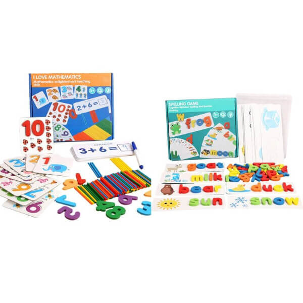 CHILDREN LETTER RECOGNITION SPELLING GAME