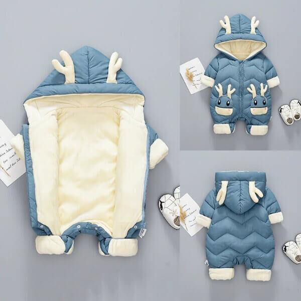 BABY WINTER LITTLE DEER SNOWSUIT COAT