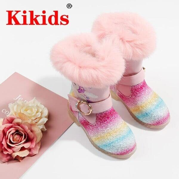 WARM WINTER CHILDREN SNOW BOOTS