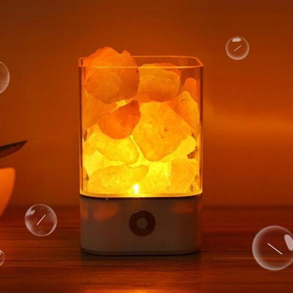 NATURAL HIMALAYAN LED NIGHT LIGHT