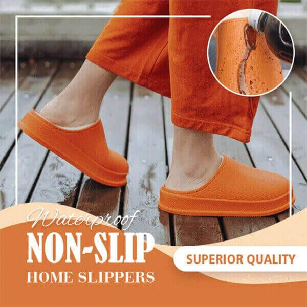 WATERPROOF NON-SLIP HOME SLIPPERS