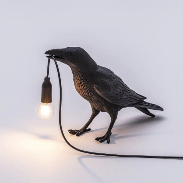 UNIQUE LED BIRD WALL LAMP