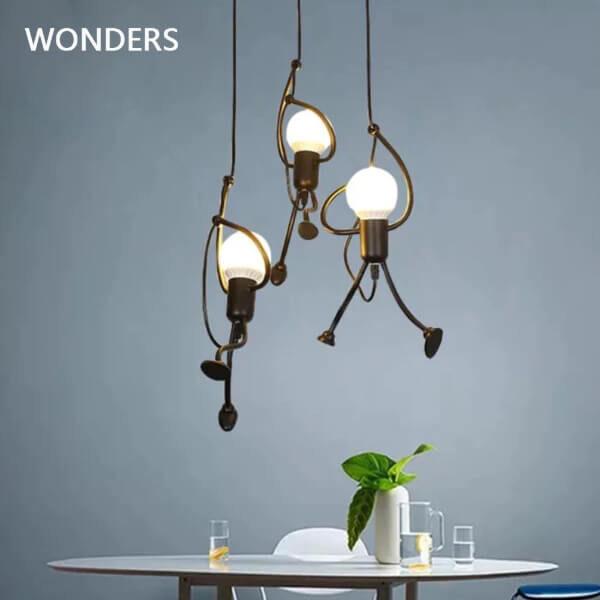 MODERN CREATIVE PENDANT LAMP