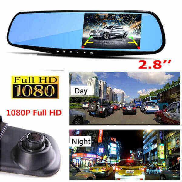 1080P VIDEO RECORDER CAR REARVIEW MIRROR