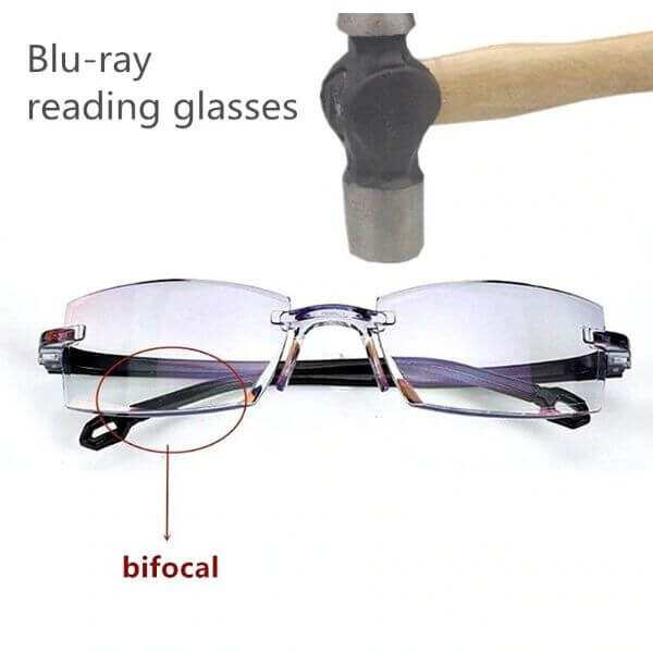 BIFOCAL BLUE-RAY READING GLASSES