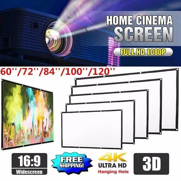 OUTDOOR PORTABLE GIANT PROJECTOR SCREEN