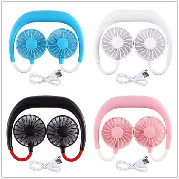 FANCY FAN – PORTABLE NECK FAN