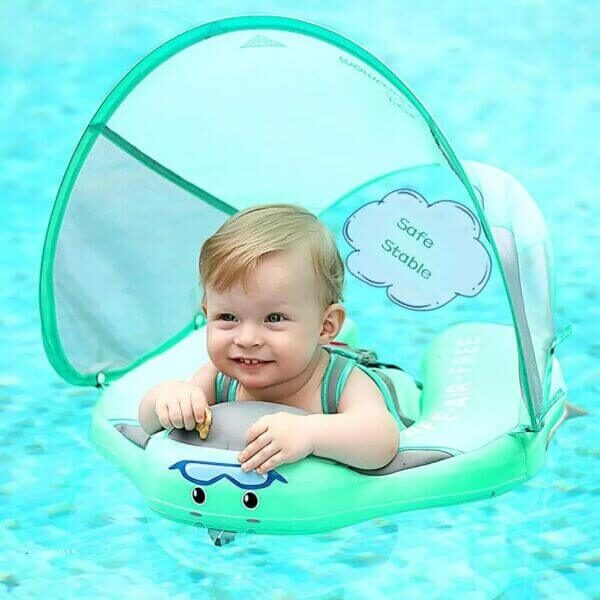 ULTIMATE SOLID NON INFLATABLE BABY SWIM RING