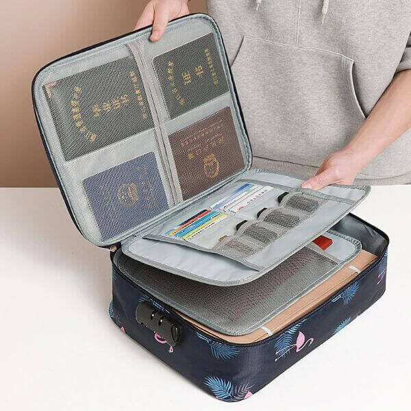 SAFELOCK WATERPROOF BRIEFCASE