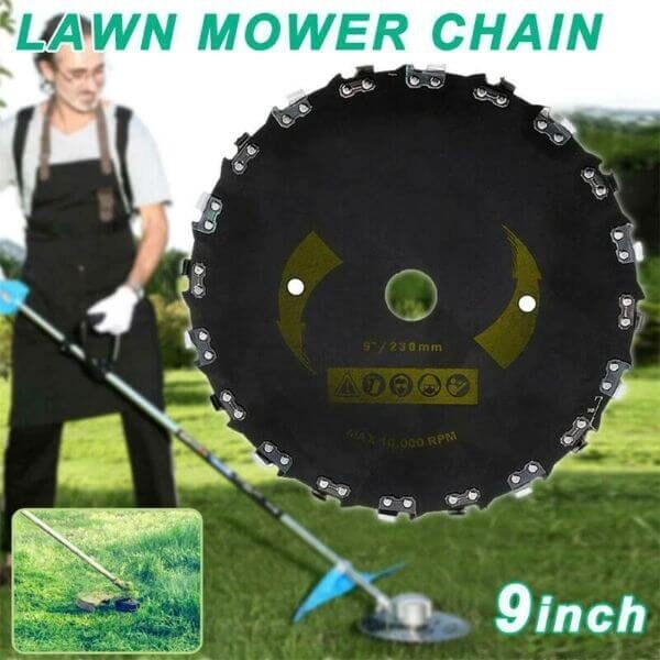 HIGH-POWERED GRASS CUTTER SAW