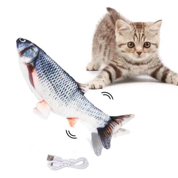 ELECTRIC FLOPPY FISH CAT TOY