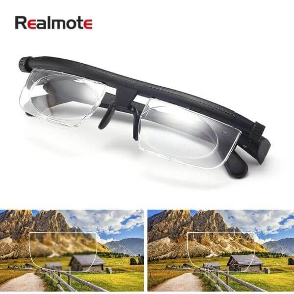 ADJUSTABLE NEARSIGHTED FARSIGHTED READING GLASSES