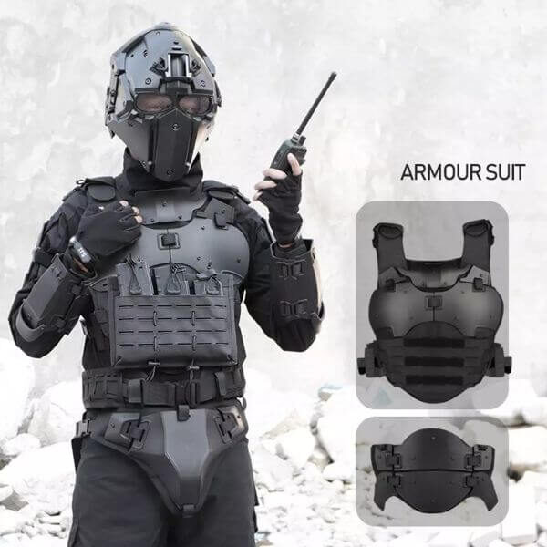 MULTI-FUNCTION TACTICAL GEARS ARMOR SET