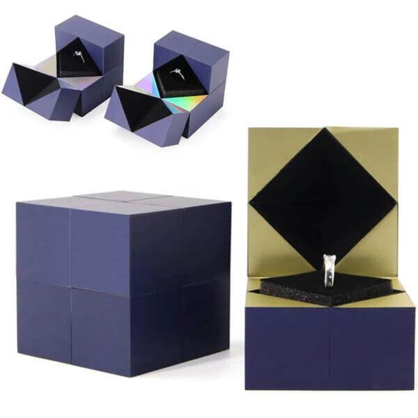 MAGIC CUBE RING BOX