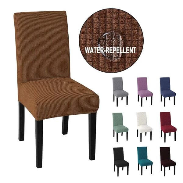 WATERPROOF AND DIRT-REPELLENT CHAIR COVER