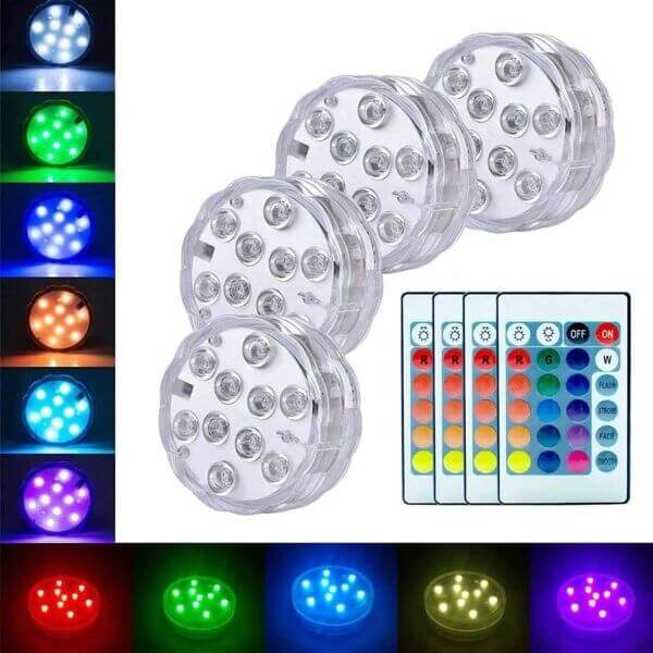 MULTIGLOW LED LIGHTS (5PCS)
