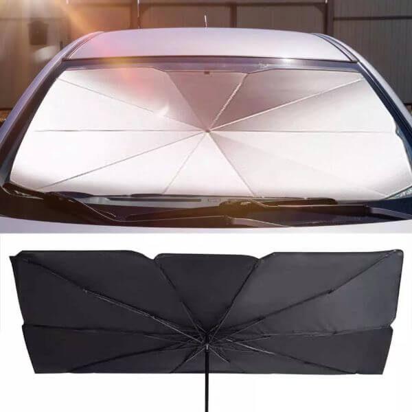 FOLDABLE CAR SUNSHADE-BLOCK UMBRELLA