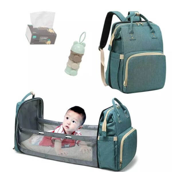 FOLDABLE DIAPER BACKPACK