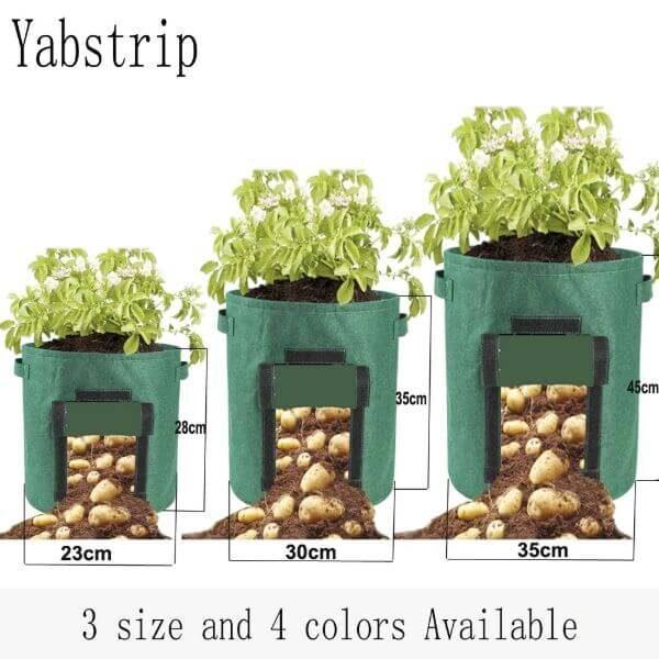 ROOT VEGETABLE GROW BAGS