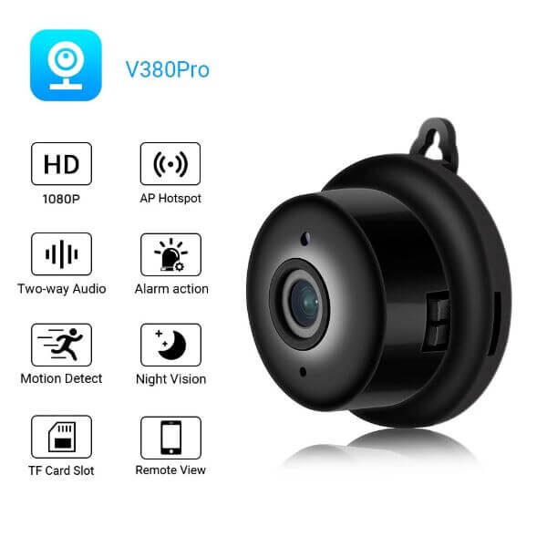 WIRELESS MINI CAMERA WITH NIGHT VISION