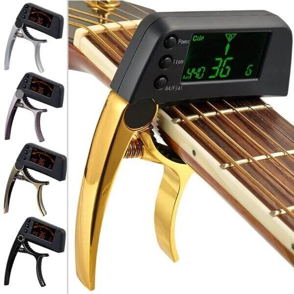 TWO-IN-ONE GUITAR CAPO