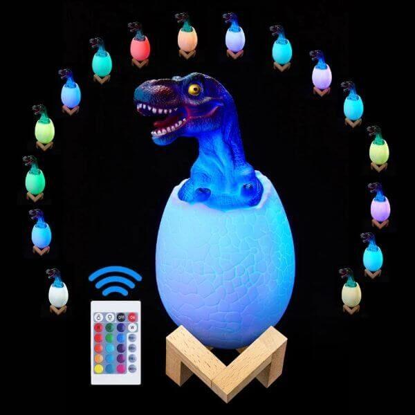 3D DINOSAUR EGG NIGHT LIGHT