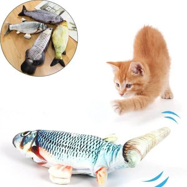 FLIPPY FISHY CAT TOY