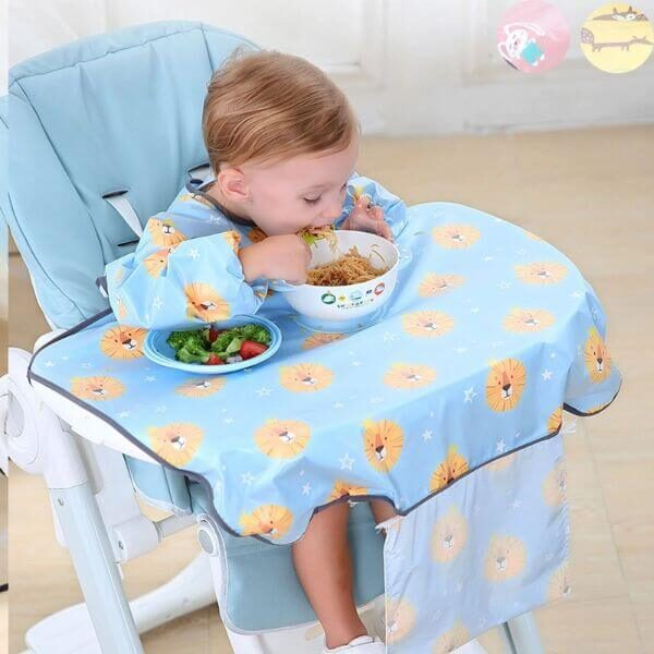 WATERPROOF BABY FEEDING BIBS