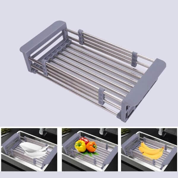 EXPANDABLE SINK DRAINER