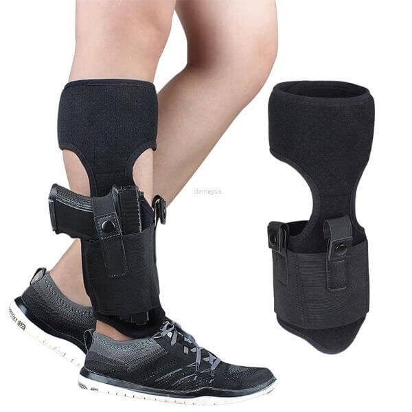ULTIMATE ANKLE HOLSTER WITH CALF STRAP